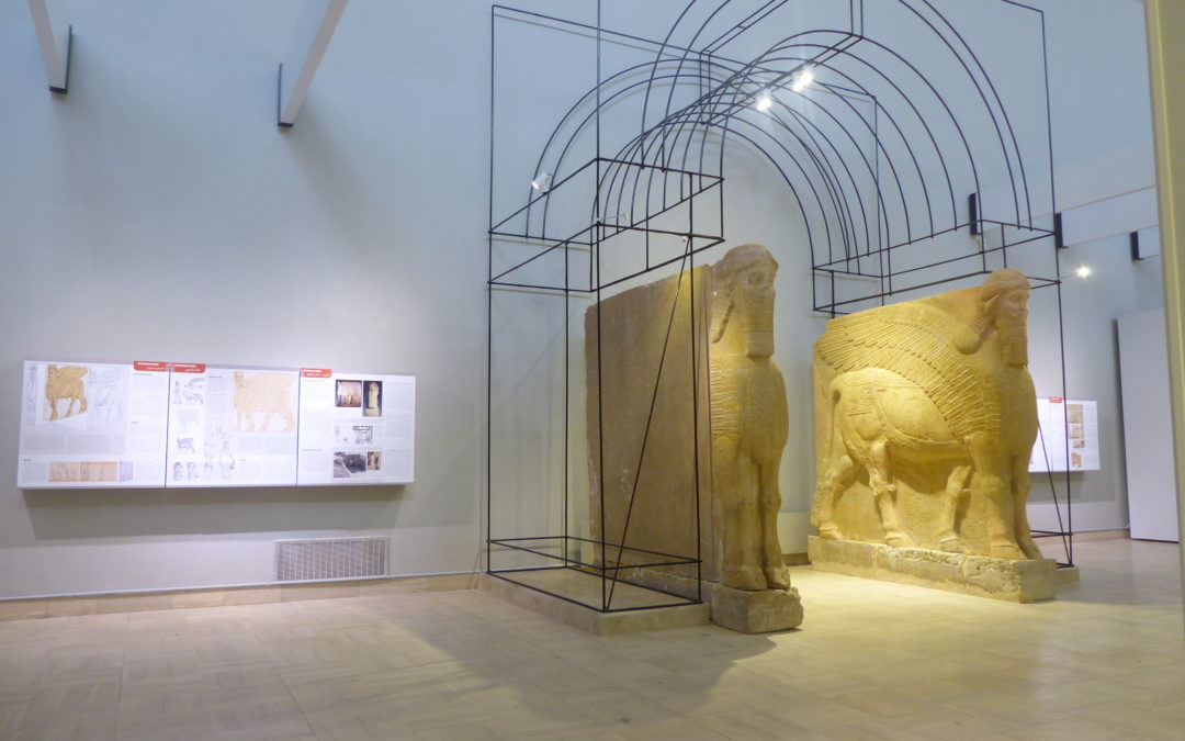 Assyrian room in the Iraq Museum of Baghdad